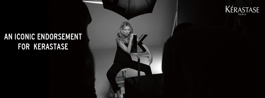 Kate Moss Is The New Face Of Kerastase
